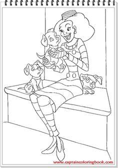 102 Dalmations. Disney Coloring Page. Dibujos de 102 ...