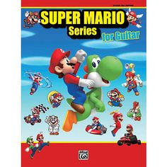 After decades of anticipation, Alfred Music is proud to release the officially licensed, collectible sheet music companion folios to the Super Mario Bros. video game series. This collection of 34 themes is arranged for solo guitar performance with full notation and TAB. Each song is arranged in easy guitar keys at an easy--intermediate level, and all pieces are suitable for recitals, concerts, and solo performances. Beloved by generations of gamers around the globe, these instantly…