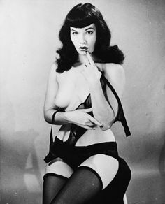 Bettie Page I just love this pic of her