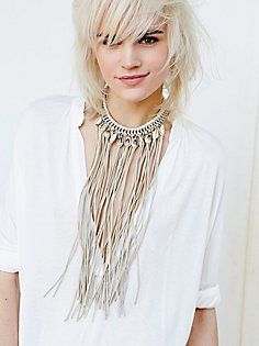 casual boho and chic style, necklace