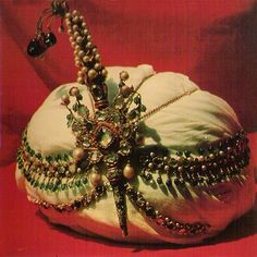 Turban aigrette, possibly from Topkapi palace in Istanbul
