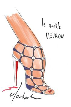 bdfd9615479 11 Best Christian Louboutin Sketches images