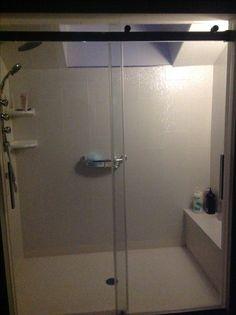 Shower Stalls, Door Handles, Bathtub, Doors, Mirror, Bathroom, Home Decor, Door Knobs, Standing Bath