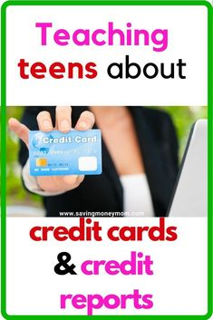 Kids need to have a solid understanding of finances, credit cards & credit repor. Money Tips, Money Saving Tips, Save Money On Groceries, Frugal Living Tips, Financial Literacy, Lessons For Kids, Finance Tips, Blogging For Beginners, Money Management