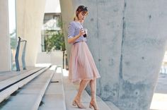 Aktuelle Mode- & Fashion-Trends im Blog von Vicky Wanka entdecken ♥ 3 Arten einen Tüll-Rock zu kombinieren ♥ Blogwalk.de
