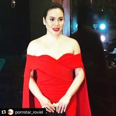 #Repost @pornstar_roviel with @repostapp. ・・・ @claubarretto for #MEGAPinoyPrideBall ... Designed by @michaelleyva_  Hair by @jaymer8888 and Makeup by yours truly ... #MEGA #TheNEWPH #claudinebarretto #hairbyjaymer #makeupbyrovielcastor