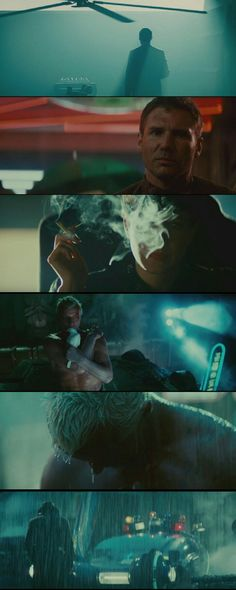 Blade Runner(1982) Directed by Ridley Scott.