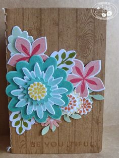 Stampin' Up! Flower Patch, Stampin' Up! Hardwood