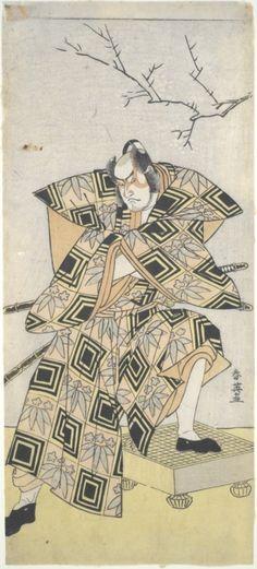 Actor Ichikawa Danjuro V by Katsukawa Shun'ei