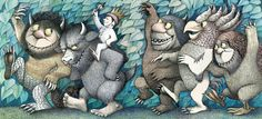 Illustration from Where the Wild Things by Maurice Sendak.