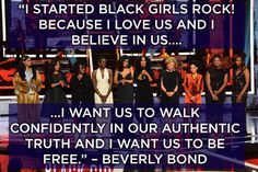 Because like Beverly Bond said, we don't need anyone's permission to affirm ourselves.