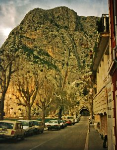 Omiš is a town n port in Dalmatia region_ Croatia
