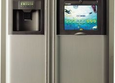LG Internet Refridgerator:  with an anticipated RRP of 15,000USD ... I think I'll just mount an iPad device to my refrigerator instead.