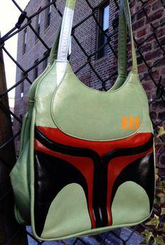 custom Star Wars Boba Fett purse