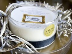 Objects with Purpose: Non-Toxic Candles - Organic Candles - Body Candles