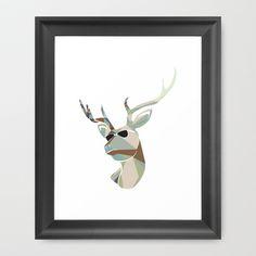 CAUGHT in the LIMELIGHT 003 Framed Art Print by Juan Cervantes - $56.00