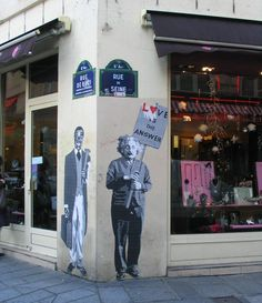 Love Is The Answer! Paris, 6-eme. Gonna try to look for this!
