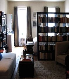 bibliothèque à claire voie
