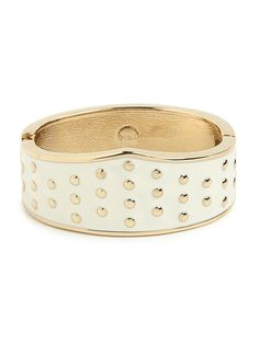 the ivory dot cuff #summersale