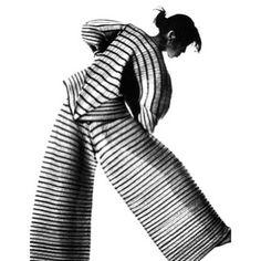 ISSEY MIYAKE , photograph by IRVING PENN, 1989: #IsseyMiyake #Irvingpenn #fashion #style #japanese