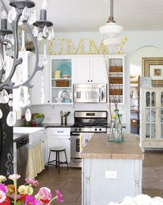kitchen before + after - home tour - the handmade home