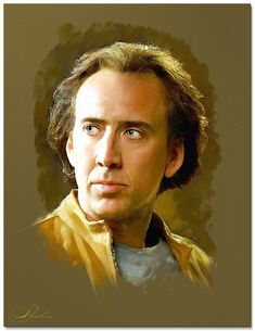 Nicolas Cage by shahin
