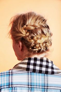 3 Holiday Updos You'll Actually Want To Wear #refinery29  http://www.refinery29.com/2016/12/133205/updo-hairstyles-tutorial#slide-1  Braids On BraidsBraids are always a good idea. They never go out of style and they look way harder to create than they actually are — like this woven masterpiece. Warren promises that even the fumbliest fingers can pull it off; you'll just need a few key tips....