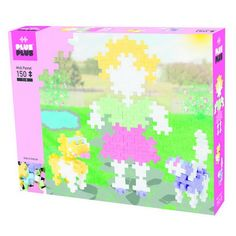 Plus-Plus Midi Pastel 150 Dievča a pes | edukacnehracky.sk Safari, Hello Kitty, Flora, Diagram, Map, World, Location Map, Plants, Peta