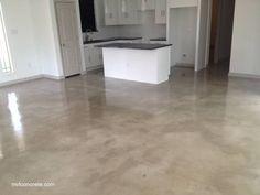 como pulir un piso de concreto