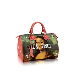 """American artist Jeff Koons is plastering the art of European greats on a new line of pricey handbags for Louis Vuitton, dubbed """"Masters."""""""