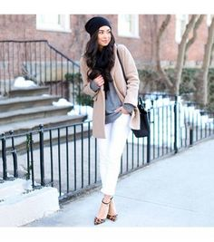 Our Epic Roundup Of Street Style Outfits To Try Now via @WhoWhatWear