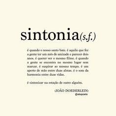Sintonia é Eu e Você