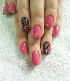 26 Holiday Nails to Get You Into the Christmas Spirit 17 Trendy Nail Art, Stylish Nails, Color For Nails, Nail Colors, Best Nail Art Designs, Fabulous Nails, Holiday Nails, Spring Nails, Toe Nails