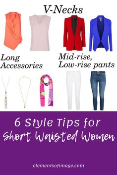 6 Style Tips for Short Waisted Women Elements of Image should a busty woman wear a cropped denim jacket - Woman Denim Jacket Short Legs Long Torso, Short Waist, Over 50 Womens Fashion, Fashion Over 50, Ladies Fashion, Workwear Fashion, Fashion Outfits, Fashion Tips, Fashion Fashion