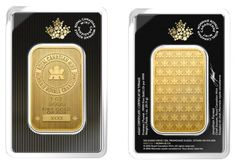 The Royal Canadian Mint is one of the few mints to have successfully applied several proven techniques which stand against counterfeiting and ease the bullion verification process