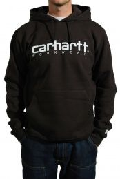 Carhartt uomo Midweight Workwear hoodie Dark Brown small