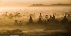Sunrise over dreamland Myanmar, Bagan.