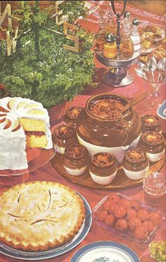 Traditional New England Supper  (Better Homes and Gardens Best Buffets, 1963)