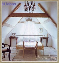 loft bedroom by decorology, via Flickr