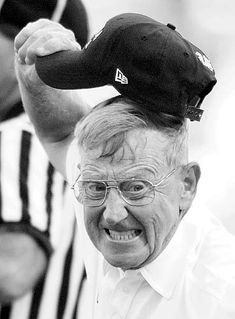 """Lou Holtz, University of Arkansas football coach from """"When all is said and done, a lot more is said than done. College Football Quotes, Nd Football, Notre Dame Football, Notre Dame Irish, Lou Holtz, Go Irish, Fighting Irish, Sports Stars, Crimson Tide"""