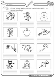 Autodictado ch Everyday Activities, Learning Activities, Spanish Lessons For Kids, Alphabet Coloring Pages, Teaching, Education, Speech Pathology, Printable Alphabet Letters, Alphabet Soup