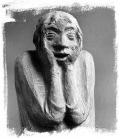 Ernst Barlach (1870-1938) - Das Grauen (1923)