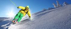 Skier against blue sky in high mountains - Buy this stock photo and explore similar images at Adobe Stock Alta Norway, Romantic Cards, Winter Is Coming, Outdoor Activities, Spring Break, Art Images, Royalty Free Images, How To Draw Hands