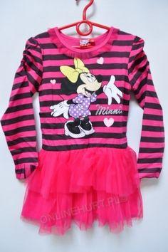 Sukienka dziewczęca Myszka Minnie 42570  _A12  (3-8)