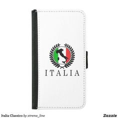 Italia Classico iPhone SE/5/5S Wallet Case. Italian Designs For Case Accessories.