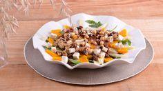 Ensalada de calabaza, pera y queso feta - Elena Aymerich - Receta - Canal Cocina