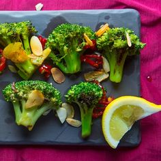 Ottolenghi's Grilled Broccoli with Chile and Garlic
