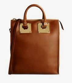 Sophie Hulme Medium      Sophie Hulme Medium Structured Tote