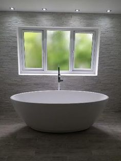 The Harrison Freestanding Bath makes the perfect centre piece in Rachel from Wrexham's bathroom. #VPShareYourStyle