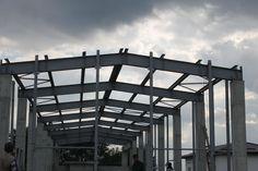 Decorom Ciacova Romania - Steel Structures Buildings - Duna-steel.ro